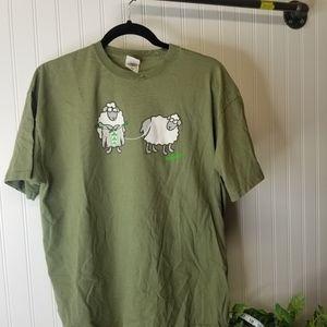 Men's Size XL Sheep Graphic Ireland T-shirt